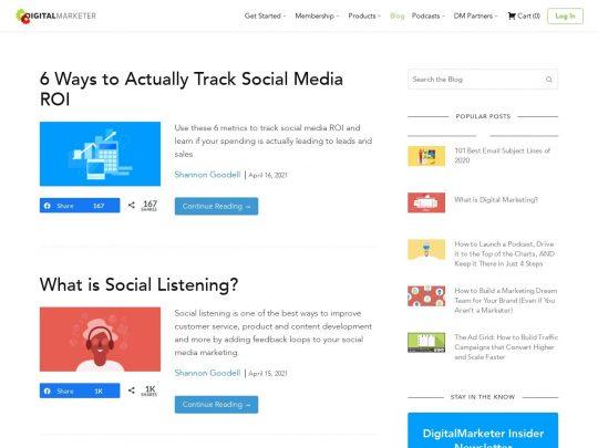 DigitalMarketer Blog