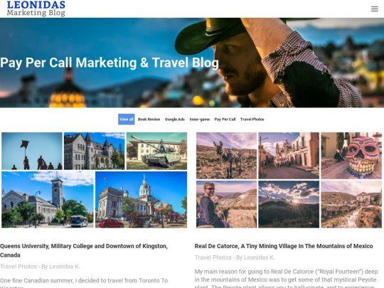 Leonidas Marketing Blog