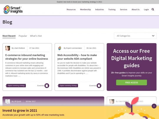 Smart Insights Blog