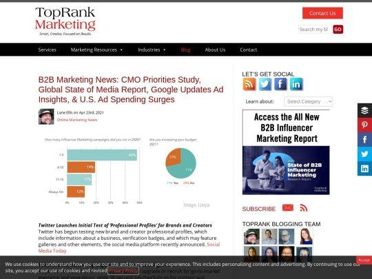 TopRank® Blog
