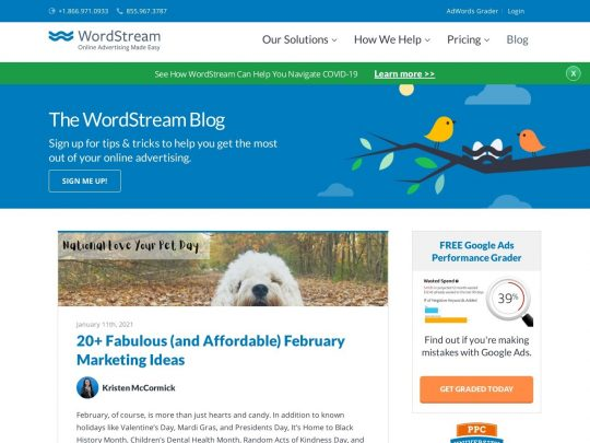 WordStream Blog