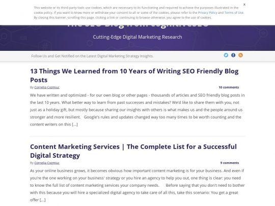 cognitiveSEO Blog